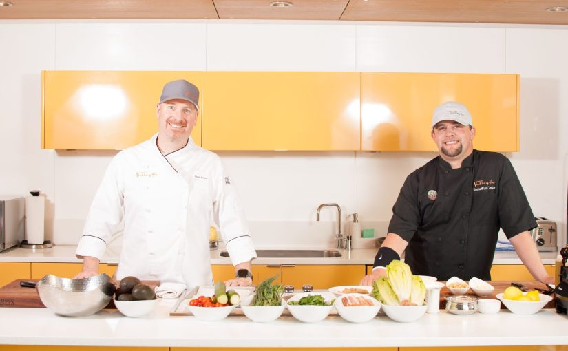 Virtual cooking classes offered from Hotel Valley Ho