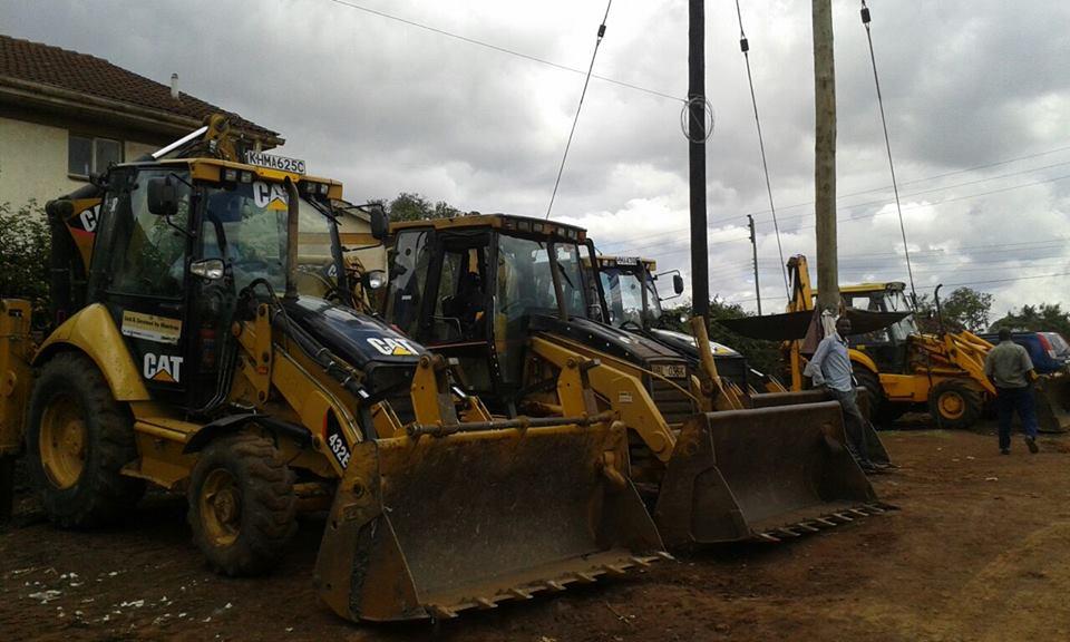 Machine Hire Nairobi Kenya