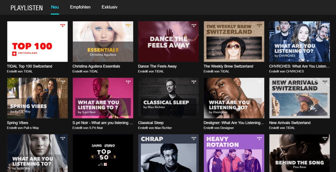 SPRING VIBES on TIDAL