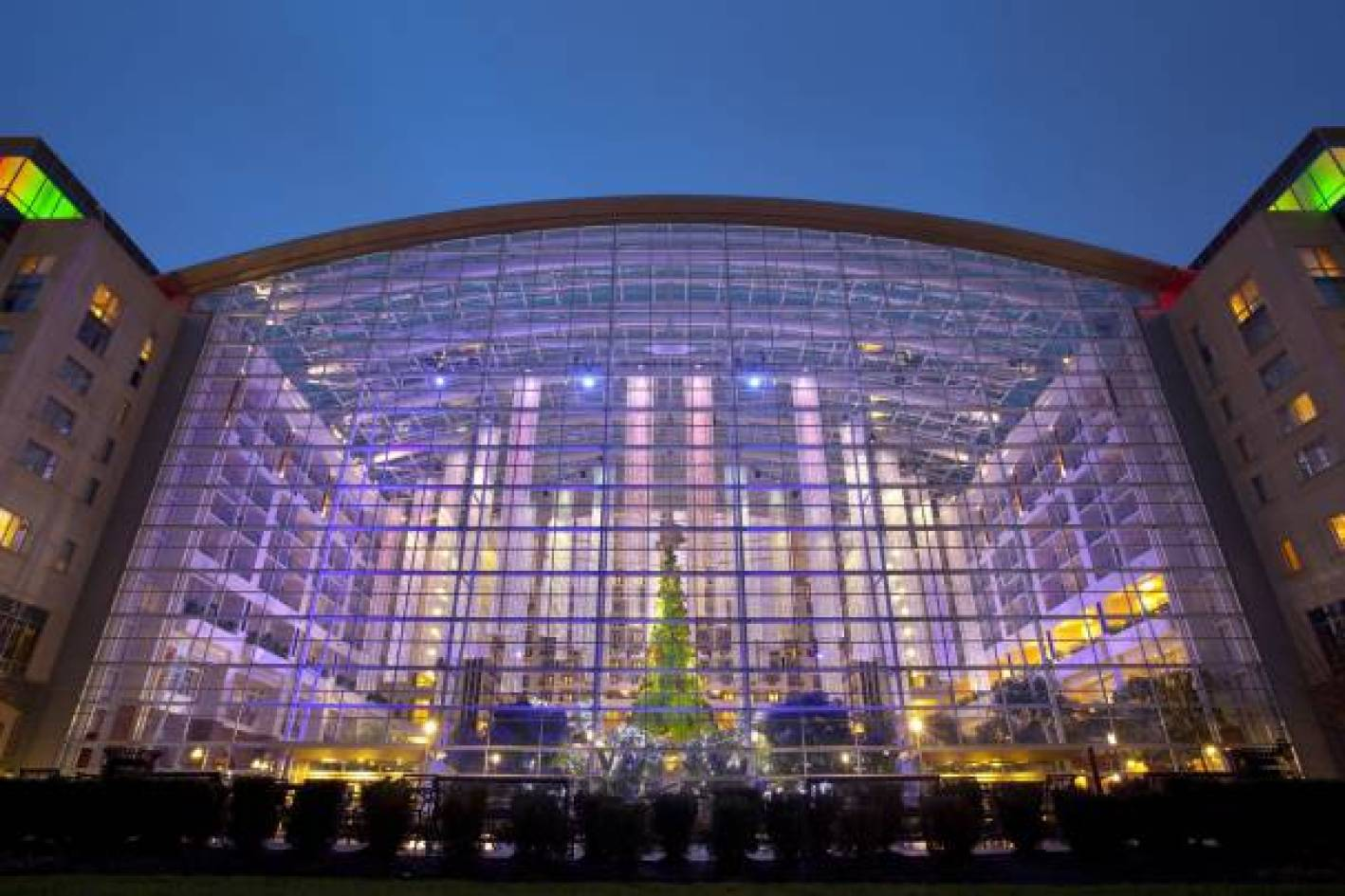 GaylordNational - Christmas Decor - Atrium Window