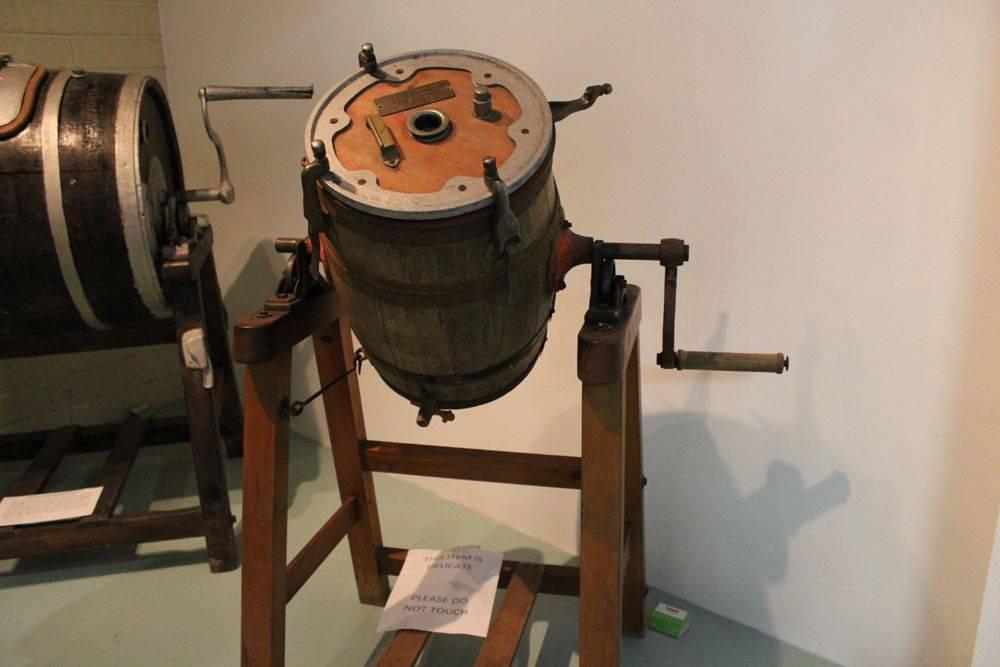 churn at Cork Butter Museum