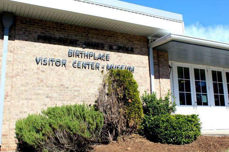Visitor-Center-James-K-Polk