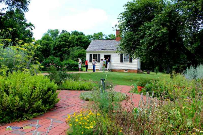 garden and Law office Patrick Henry's Red Hill PullOverandLetMeOut