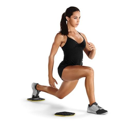 SKLZ-Slidez für einbeiniges Training