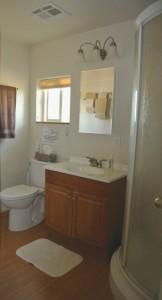 Bunk House bathroom