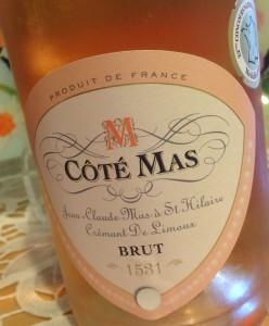 Cote Mas St Hilaire Cremat De Limoux Rose NV Brut