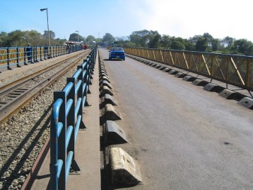 Victoria Falls Bridge roadway