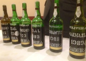 Madeira wine labels