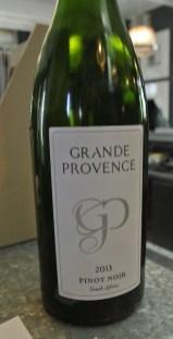 2013 Grand Provence Pinot Noir