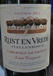 2012 Rust en Vrede Cabernet Sauvignon Bland