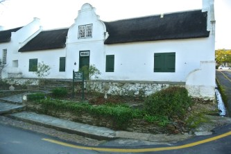 Pioneer's house Tulbagh