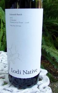 2013 Lodi Native Schmiedt Ranch Zinfandel Macchia Wines