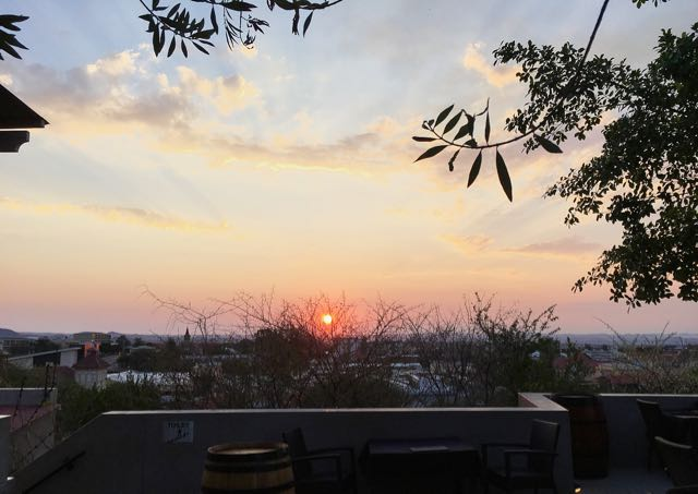 Sunset in Windhoek