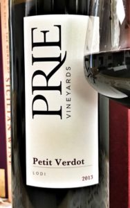 2013 PRIE Vineyards Petit Verdot
