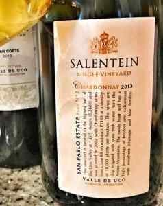 Bodegas Salentein Single Vineyard Chardonnay