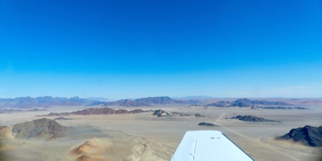 Namib from the air