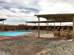Swimming pool at Kulala