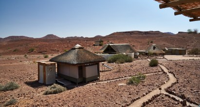 View of Damaraland Camp