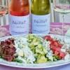 Les Vignes de Bila-Haut and Cobb Salad