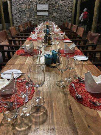 Set for dinner