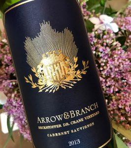 ArrowandBranch Beckstoffer Cabernet Sauvignon