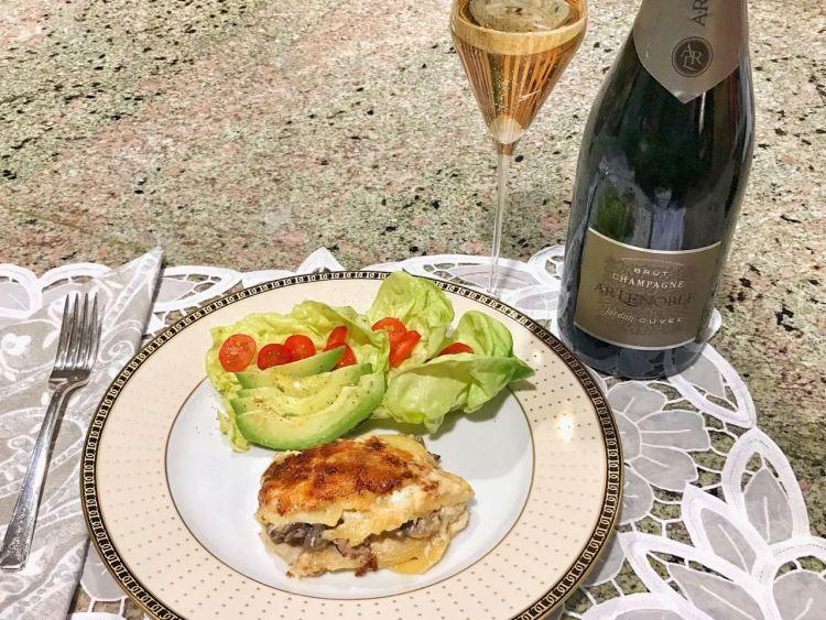 AR Lenoble Champagne dinner
