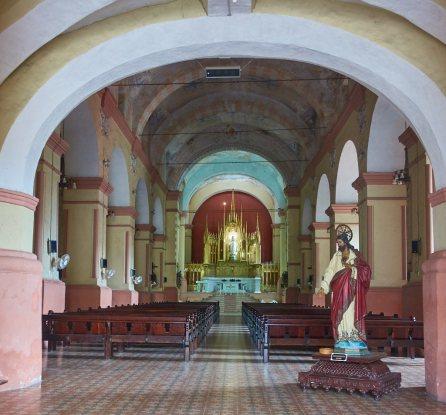 Inside Iglesia Merced