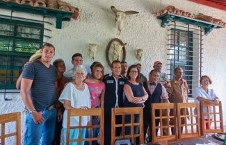 Our hosts at Finca Zaragozano