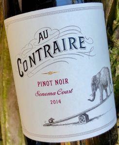 Au Contraire Pinot Noir