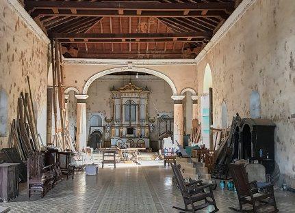 Interior Iglesia Bien Viaje