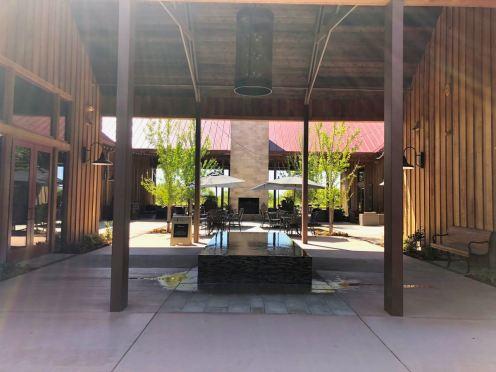 Oak Farm Vineyard Reflection