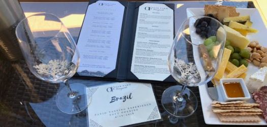 Patio Tasting Experience Oak Farm Vineyards