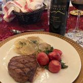 Golden Rule Zinfandel and dinner