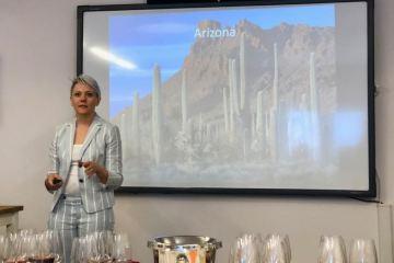 Lisa Strid, Aridus Wine Co winemaker