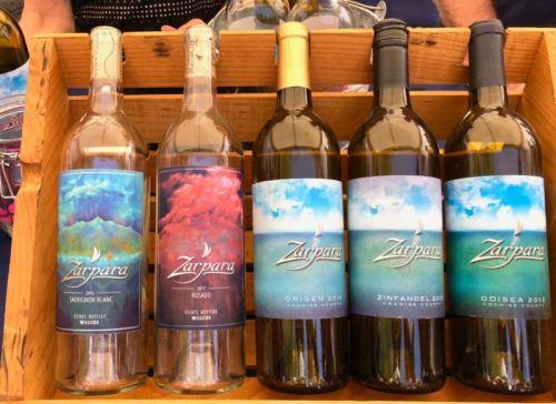 Zarpara wines