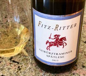 Fitz-Ritter Gewürztraminer Spätlese, Pfalz