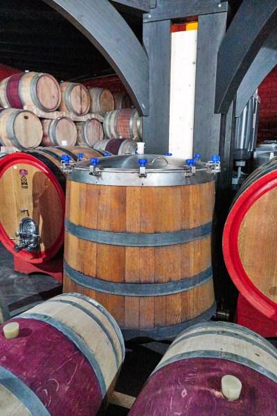 Barrel variety at Erongo Winery