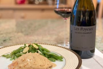 Chicken Diable and Cabernet Franc