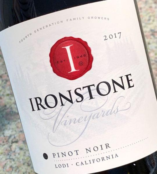 2017 Ironstone Vineyards Pinot Noir, Lodi