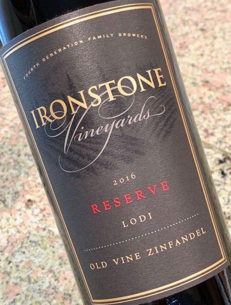 2016 Ironstone Vineyards Reserve Old Vine Zinfandel, Lodi