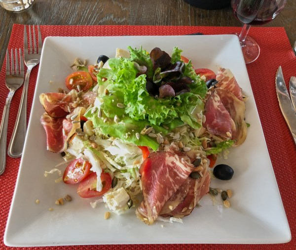 Light lunch at Erongo Winery