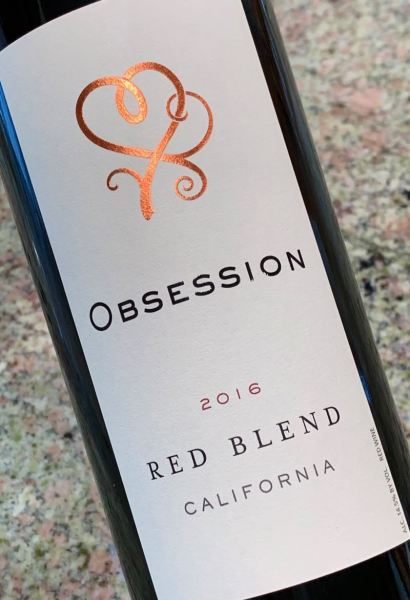 2016 Obsession Red Blend, California