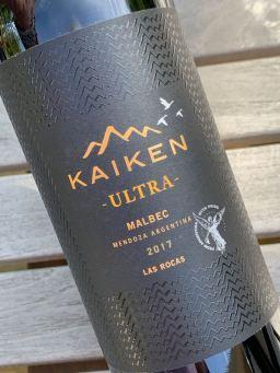 2017 Kaiken Ultra Malbec, Uco Valley, Argentina