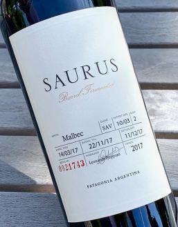 2017 Familia Schroeder Saurus Malbec, Patagonia, Argentina