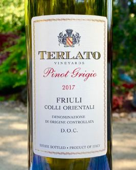 2017 Terlato Vineyards Pinot Grigio, Friuli Colli Orientali DOC