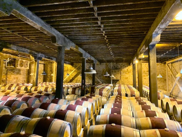 The Hess Collection Barrel Room