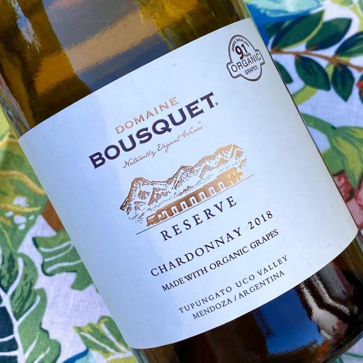 2018 Domaine Bousquet Reserve Chardonnay, Tupungato, Argentina photo