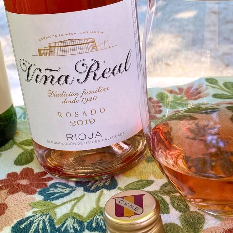 2019 Viña Real Rosado, Rioja photo