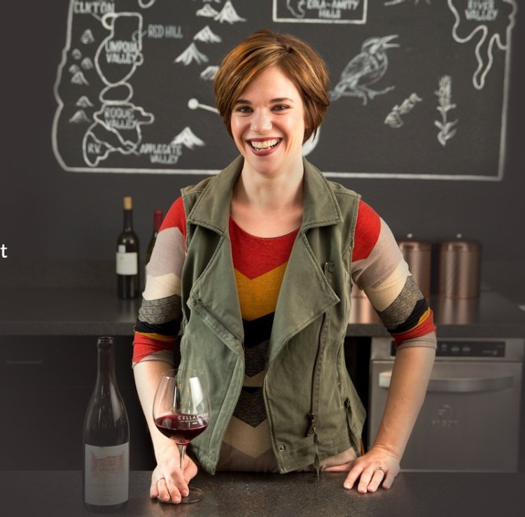 Carrie Wynkoop, proprietor Cellar 503. Photo courtesy of Cellar 503 photo