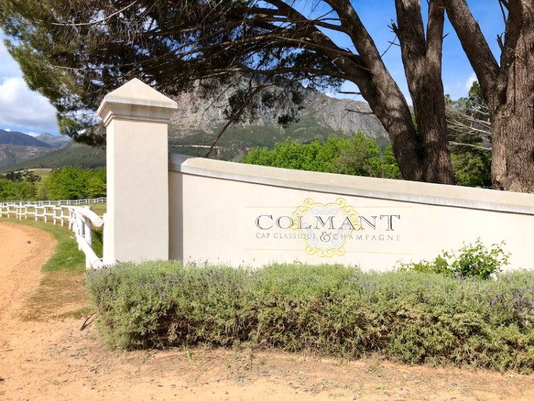 Colmant Cap Classique & Champagne entrance photo
